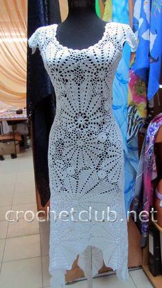 white dress crochet 2