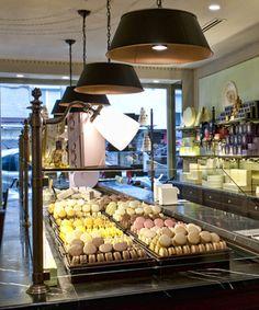 Lived part of my Blair Waldorf dream last month...these macaroons were amazing!   Ladurée | Ladurée Shops