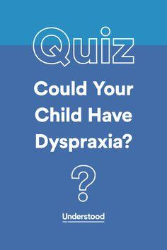 dyspraxia emotional problems