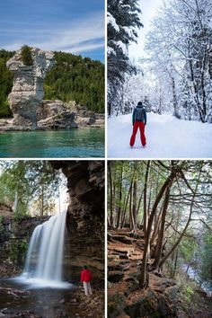 Looking for a weekend trip from Toronto to get away from the city? These are 16 ideas for either a day trip or full weekend getaway that anyone can do.  #weekendgetaway #wanderlust #ontario #canada #toronto