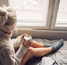 Blonde Woman Drinking Morning Coffee in Bed by Lumina for Stocksy United – inspiration Inspiration Photoshoot, Shooting Photo Boudoir, Shooting Couple, Street Style Inspiration, Coffee In Bed, Coffee Break, Coffee Girl, Coffee Cozy, Sexy Coffee