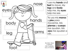 Spanish body parts terms are essential ways for students to learn vocabulary and reading while deepen their cognitive experiences. Co Teaching, Teaching Strategies, Student Learning, Spanish Worksheets, Spanish Vocabulary, Spanish Songs, Spanish Lessons, Teaching Techniques, Fun Songs
