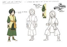 Avatar: The Last Airbender - Toph - Preproduction Visual Development