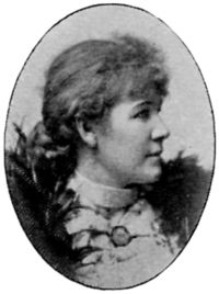 """Jenny Eugenia Nyström (born June 13 or June 15, 1854 in Kalmar, Sweden; died January 17, 1946 in Stockholm) was a painter and illustrator of children's books, but is mainly known as the person who created the Swedes' image of the """"jultomte"""" on numerous Christmas cards and magazine covers, thus linking the Swedish version of Santa Claus to the gnomes of Scandinavian folklore."""