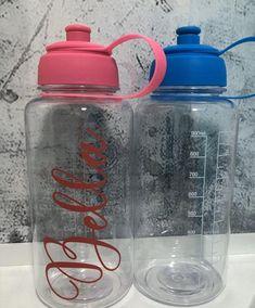 Bidons 2x Zefal Magnum 1 Litre Cycling Water Bottles Clear HUGE 1L CAPACITY!