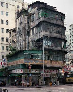 Love these old walk ups ... shame most are being knocked down. PHOTOGRAPHY – Michael Wolf's Hong Kong Cornerhouses | Hong Wrong Hong Kong Expat Blog