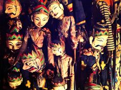 Malang Tugu hotel Indonesia  Javanese puppet collection