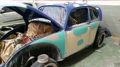 VW 66/ paint job