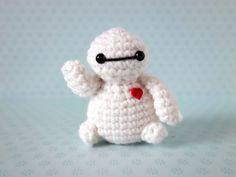 Superheroes hechos de crochet
