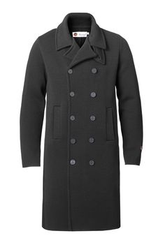 Jean Coat in Black Looks Great, How To Make, How To Wear, Menswear, Pullover, Coat, Jackets, Shopping, Black