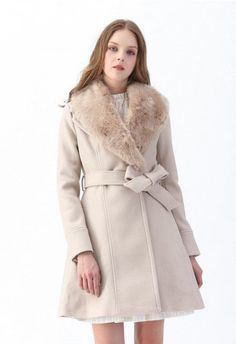 Classy Open Front Knit Coat in Light Tan - Retro, Indie and Unique Fashion