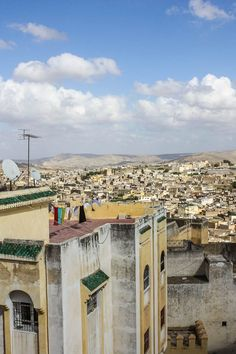 Overlooking the city of Fes in Morocco. For more photos and tips on visiting Morocco read the article.