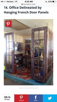 Trendy Art Room Door Ideas Home Decor Ideas Old French Doors, Old Doors, Sliding Doors, External Oak Doors, Brown Front Doors, Art Room Doors, Hanging Barn Doors, Traditional Doors, Cool House Designs