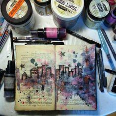 http://artistycrafty.blogspot.ie/2015/04/kawa-i-nozyczki-march-challenge-few.html