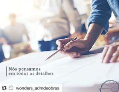 #Repost @wonders_admdeobras (@get_repost)  Um projeto de qualidade é o melhor investimento da sua obra. Através dele os ambientes serão dimensionados da melhor maneira evitando desperdícios de áreas e valorizando entradas de luz natural. O resultado de um bom projeto resulta em conforto e bem estar para todos. . #wonders #wondersadm #wondersobras #arquiteto #arquitetura #engenharia #obras #apartamentos #casas #escritorios #loft #studio #decoracao #ambientes #organizacao #limpeza #agilidade…