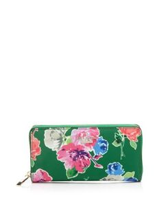 kate spade new york Wallet - Classic Nylon Lacey Continental | Bloomingdale's