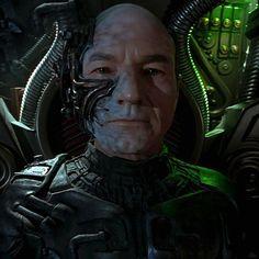 Locutus of Borg Star Trek Borg, Vape Memes, United Federation Of Planets, Resistance Is Futile, Star Trek Series, Makes Me Wonder, Starship Enterprise, Star Trek Universe, Live Long