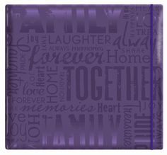 "MCS MBI Embossed Gloss Expressions Top Load Scrapbook, Deep Purple, Embossed ""Family"", http://www.amazon.com/dp/B004BFY68W/ref=cm_sw_r_pi_awd_V3OEsb0W4MNY4"