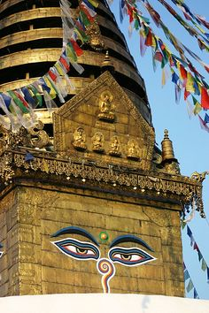 Monkey Temple (Kathmandu, Nepal) #kathmandu #nepal