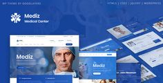 Buy Mediz - Medical WordPress by GoodLayers on ThemeForest. Mediz is a super powerful responsive WordPress Theme by GoodLayers, one of the top authors in Themeforest with more . Chiropractic Therapy, Chiropractic Clinic, Best Free Wordpress Themes, Premium Wordpress Themes, Wordpress Free, Revolution, Slider, Blog Layout, Optician