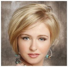 Short Hairstyles for Round Faces and Thick Hair 2014 : Short Hairstyles For Oval Faces With Thick Hair