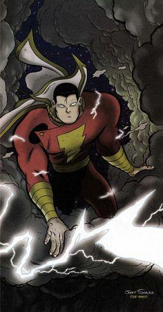Captain Marvel by Jeff Smith & Steve Hamaker