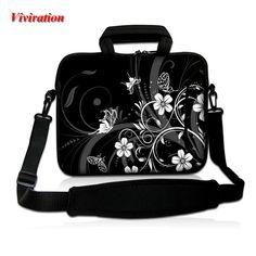 """14"""" Laptop Shoulder Bag For HP Dell 15 13 12 17 10 17.3 Inch Zipper Computer Cases 15.6"""" Notebook Shoulder Bag New Arrival 2017 #Affiliate"""