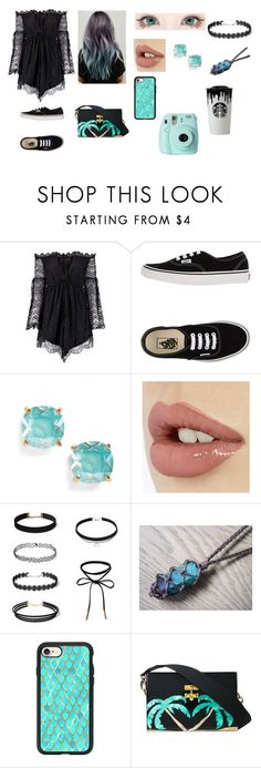 """""""56"""" by pirigoticafofis on Polyvore featuring moda, Anja, Vans, GET LOST, Kate Spade, Casetify, Fujifilm e Band of Outsiders"""