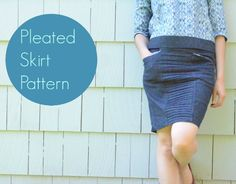 Pleated Skirt Pattern