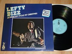 LEFTY DIZZ - Someone Stole My Christmas - FRENCH VINYL LP - ISABEL RECORDS