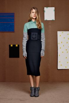 Band of Outsiders - Fall 2015 Ready-to-Wear - Look 6 of 25