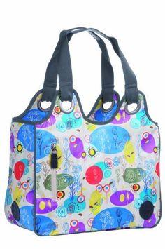 Lassig Vintage Cosmo Diaper Bag Oilcloth ,multicolor