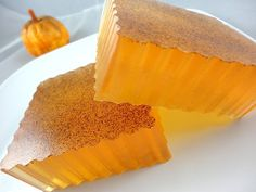 Pumpkin soap - I have never made soap but I think I might try! :)