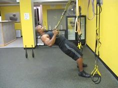 TRX Inverted Row Progression - YouTube