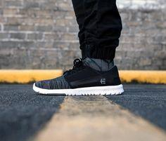 Etnies Shoes, Etnies Scout Yarn Bomb Black/Grey