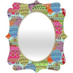 @rosenberryrooms is offering $20 OFF your purchase! Share the news and save! (*Minimum purchase required.) Candy Sky Quatrefoil Mirror #rosenberryrooms