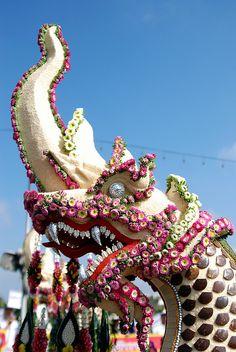 Thailand-678 Flower Festival Floats by Tristan27, via Flickr