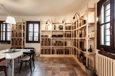 #wine #retail #shop #wood #design