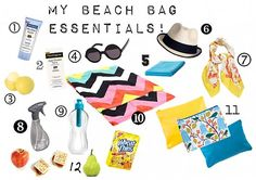 Michelle Phan Reveals Her Beach Bag Essentials