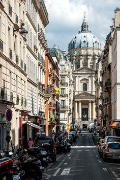 The church of the Val de Grace. Rue du Val de Grace, Paris, 5ème