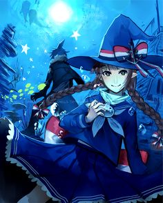 Wadanohara and the great blue sea by MMDprogramvocaloid.deviantart.com on @deviantART