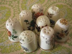 Thimble Tops by Tilted Tulip, via Flickr