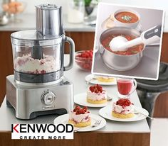 Win a Kenwood Multipro Food Processor & Triblade Hand Blender