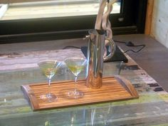 A phenomenal tray created by James Loppie of CAO dezign workz inc for the Dream Home R-House