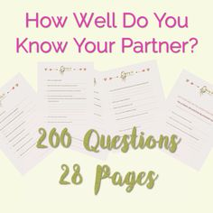 200 questions printable