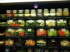 Colorful and useful combinations of veggies.