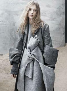 Sasha Pivovarova for The Last Magazine Fall 2013 #celine