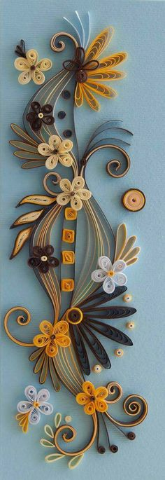 Paper Quilling - one of Mom's many hobbies