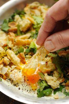 œufs au four ! Un petit confort food à réaliser en 10 minutes chrono !