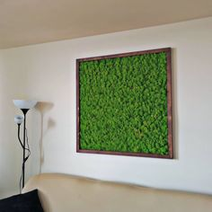 Green Color, Green Vibes!🌿 Moss frame in bigger dimensions, 40x40 inches. . . . #mossdecor #moss #reindeermoss #reindeerlichens… Decor, Home Decor Decals, Frame, Home Decor, Color
